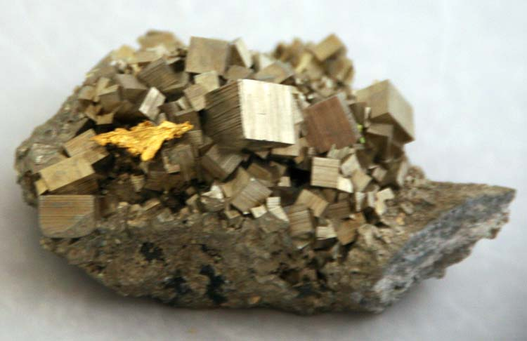 how to make pyrite shine